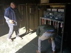 Alex substation fire