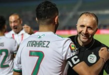 Algeria win 4 - 3 on penalties