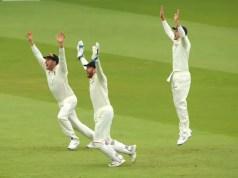 England bowl Ireland