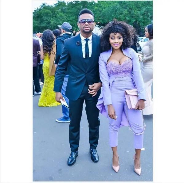 Thembi Seete and Bobo Seritsane