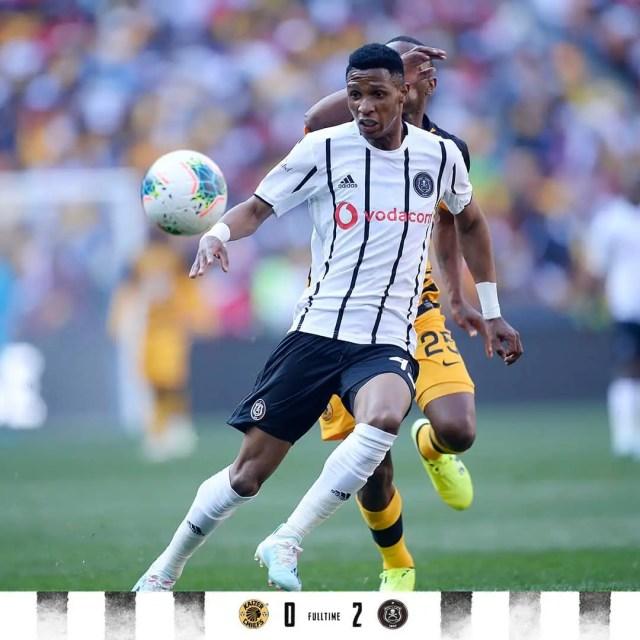 Kaizer Chiefs 0-2 Orlando Pirates