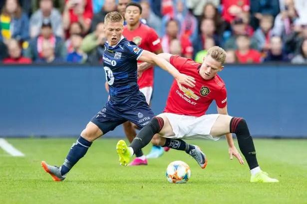 Kristiansund 0 - 1 Man Utd