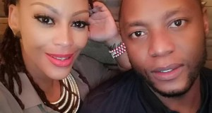 Letoya Makhene and hubby