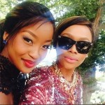 Lorna Maseko and Bonang Matheba