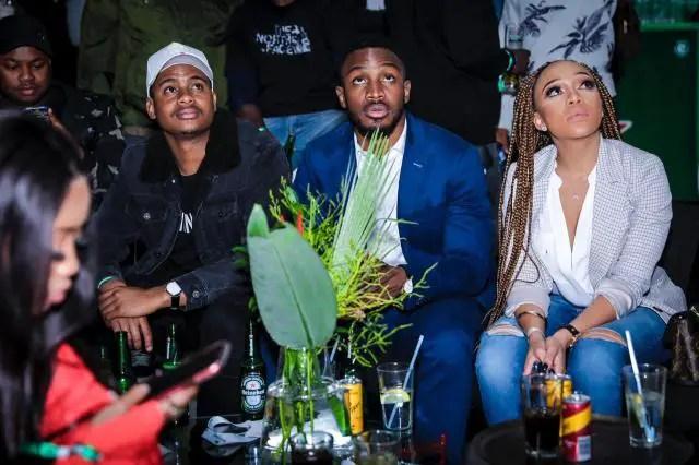 Lunga Shabalala and Thando Thabethe