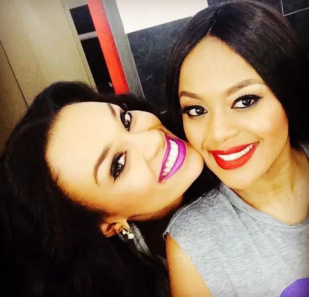 Pearl Thusi & Lerato Kganyago