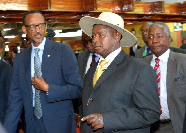 Presidents of Rwanda and Uganda