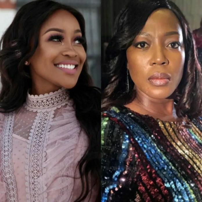 Lorna Maseko and Rami Chuene both born on the 3rd of July