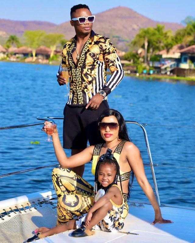 DJ Tira and family