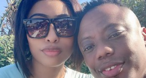 DJ Tira and his wife