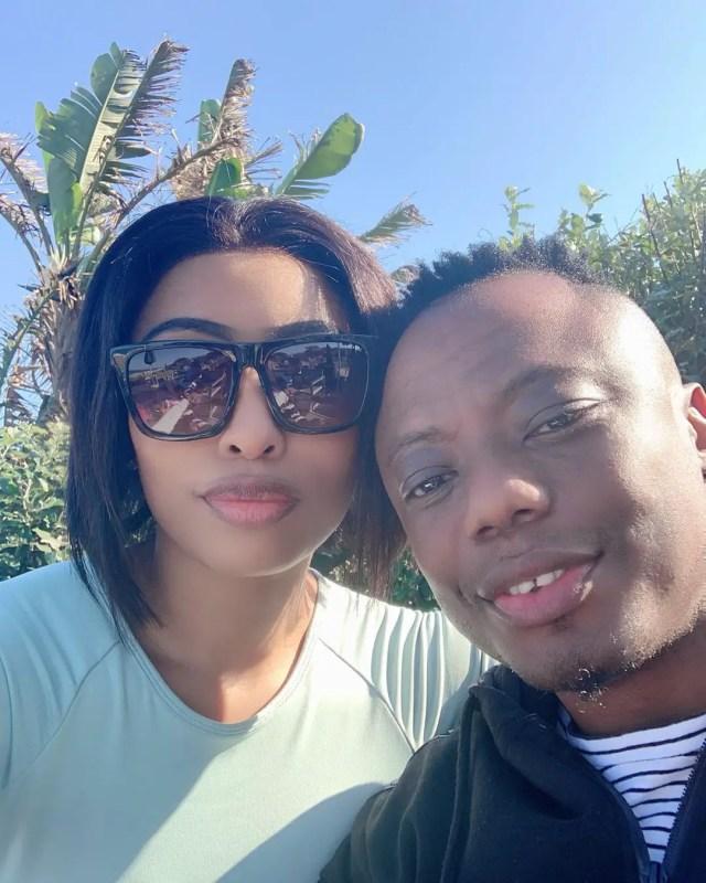DJ Tira and his wife