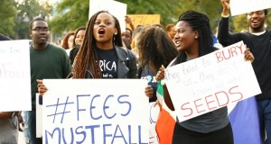 #FeesMustFall students