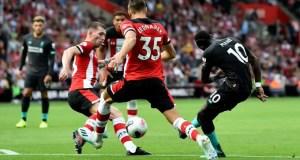 Liverpool 2 -1 Southampton