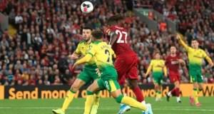 Liverpool 4 - 0 Norwich City