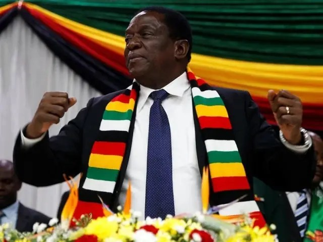 Europe Warns Mnangagwa