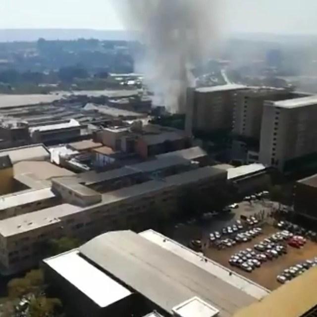 Pretoria CBD chaos