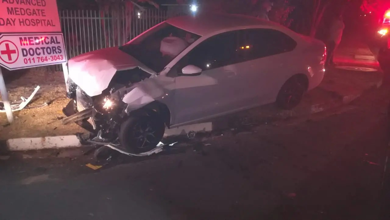 Roodepoort collision