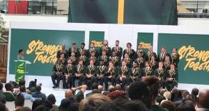 Springboks squad