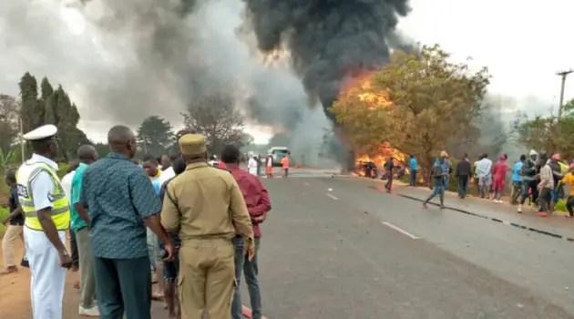 Uganda fuel truck blast