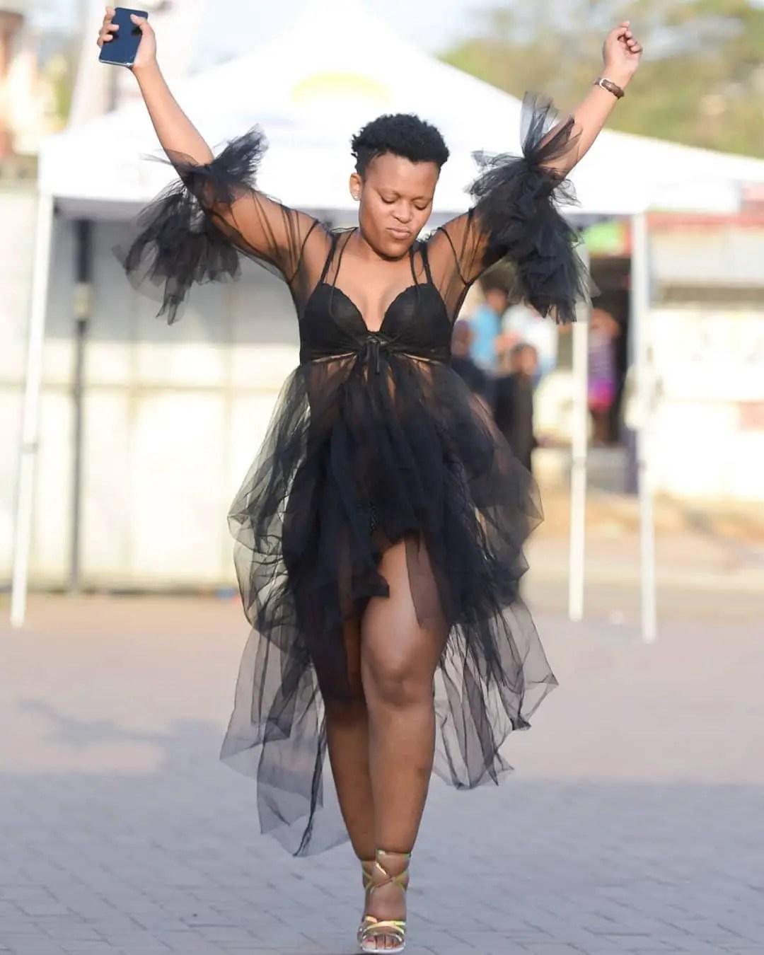 Zodwa Wabantu's outfit