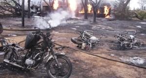fuel tanker blast