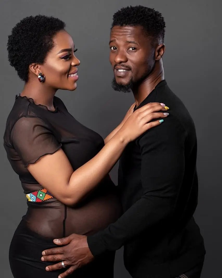 Abdul Khoza and wife