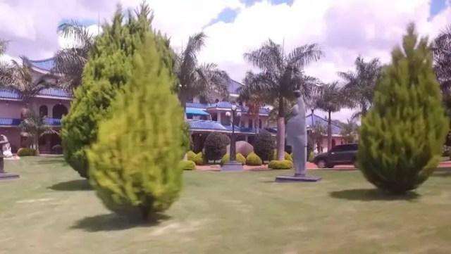 Mugabe Palace aka Blue Roof