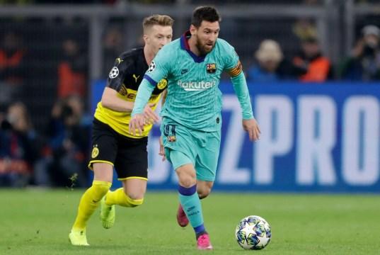 Borussia Dortmund 0 - 0 Barcelona