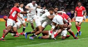 England 35 - 3 Tonga #RWC2019