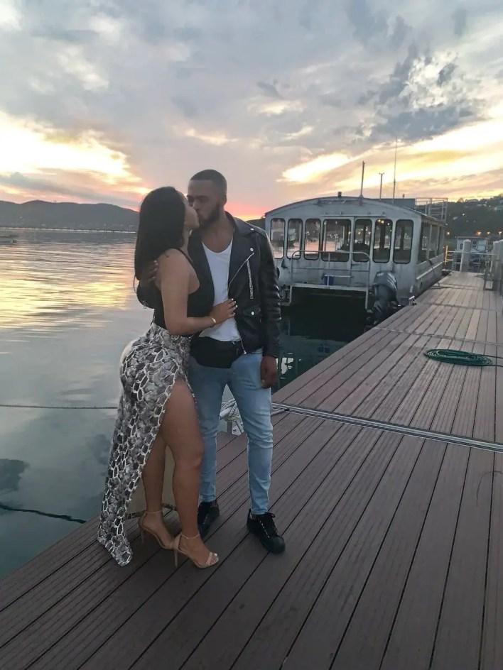 Faith Nketsi and Boyfriend