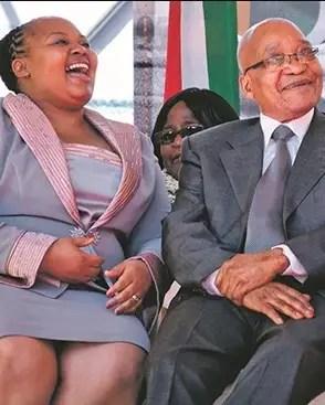 Jacob Zuma and MaNtuli