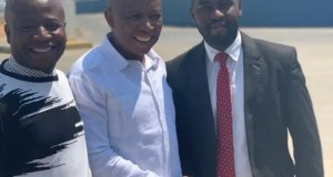 Julius Malema in Zimbabwe