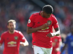 Manchester United 1 - 0 Leicester