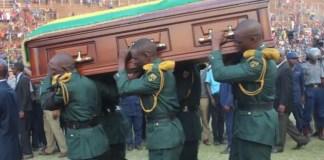 Mugabe Body Viewing