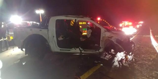 R400 head on collision