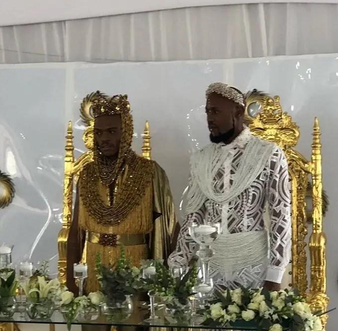 Somizi and Mohale Traditional Wedding