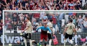 West Ham 2 - 0 Man Utd