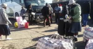 Zimbabweans head home