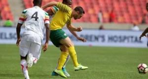 Bafana Bafana 2 - 1 Mali