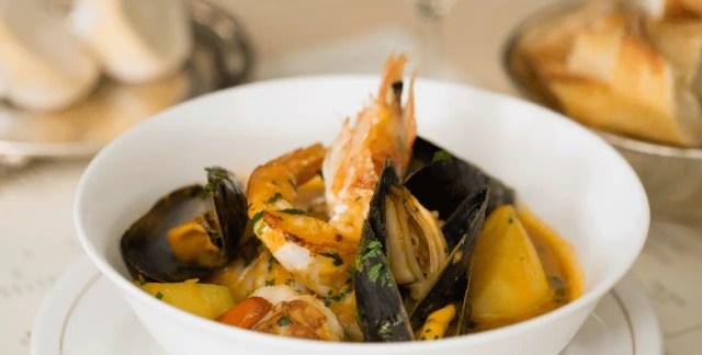 Cornish fish stew