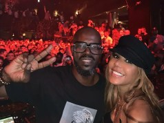 DJ Black Coffee and Cathy Guetta