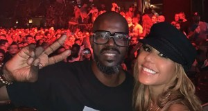 DJ Black Coffee and Cathy Guetta