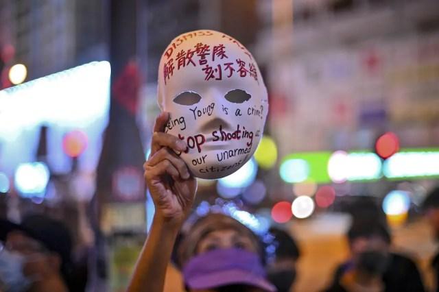 Hong Kong mask ban