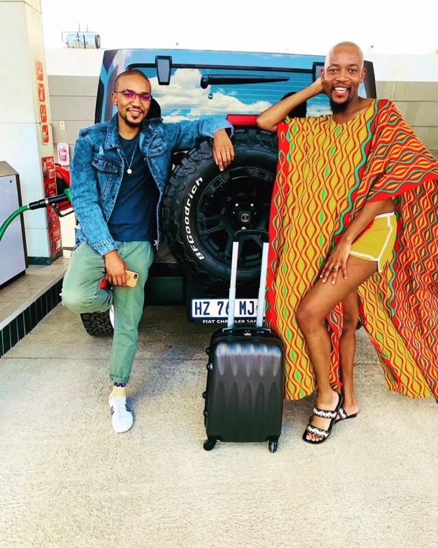 Moshe Ndiki & Phelo Bala on baecation