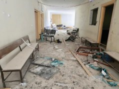 Russian warplanes bombed four hospitals
