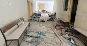 Russian warplanes bombed four hospitals