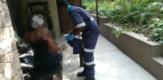Three injured in gas bottle explosion