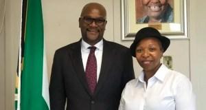 Vatiswa Ndara meets Nathi Mthethwa