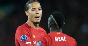 Virgil van Dijk and Sadio Mane
