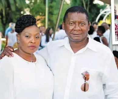 Yvonne Chaka Chaka and Dr Mhinga